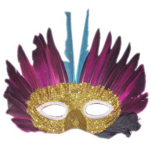 FEATHERED MASK DESIGN 6