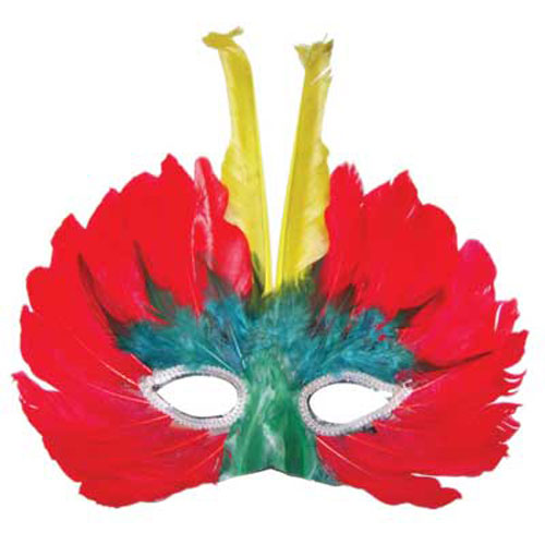 FEATHERED MASK DESIGN 8