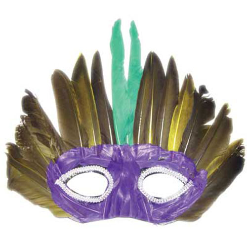 FEATHERED MASK DESIGN 12
