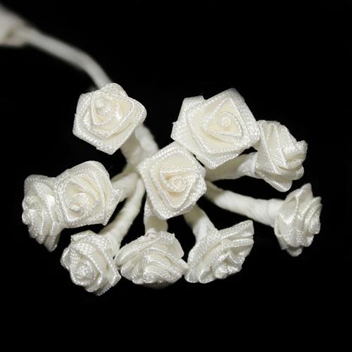 FLOWER SMALL SINGLE CREAM