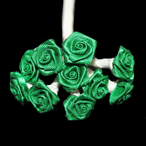 FLOWER SMALL SINGLE GREEN