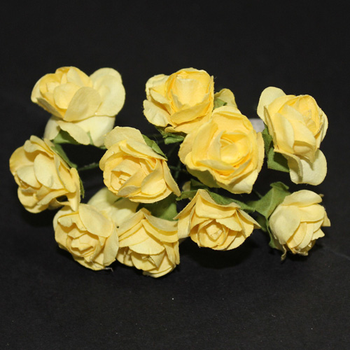 FLOWER SMALL ROSE YELLOW