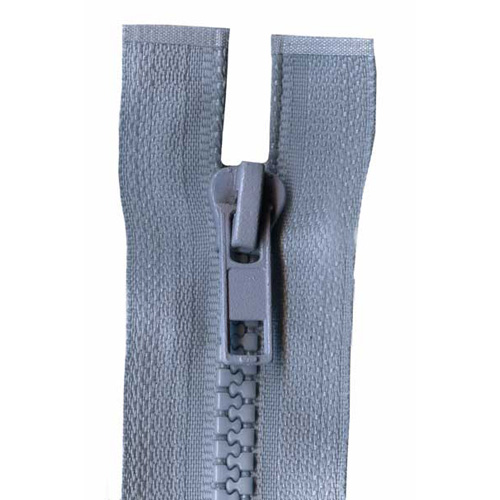 CHUNKY O/END ZIP 20CM 575 S/GRY