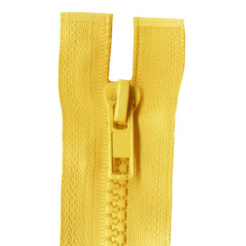 CHUNKY O/ END ZIP 25CM 506 GOLD